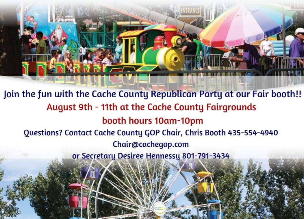 Join the Cache County Republican Party at the Cache County Fair!